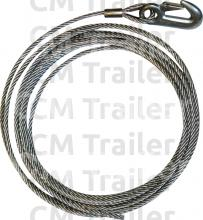 Wire Rope also 8mm Trailer Safety Chain Shackle further  on led trailer lights wiring diagram nz
