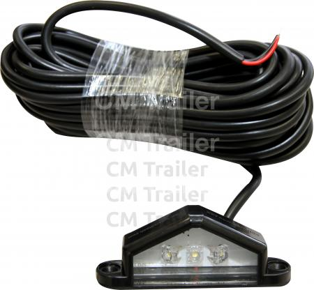MULTI VOLT LED NUMBER PLATE LAMP
