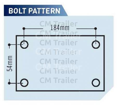HD Coupling bolt pattern