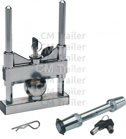 TRAILER & TOWBAR LOCK SET