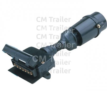 7-PIN TRAILER PLUG ADAPTORS