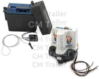 12 VOLT ELECTRIC/HYDRAULIC BRAKE ACTUATOR