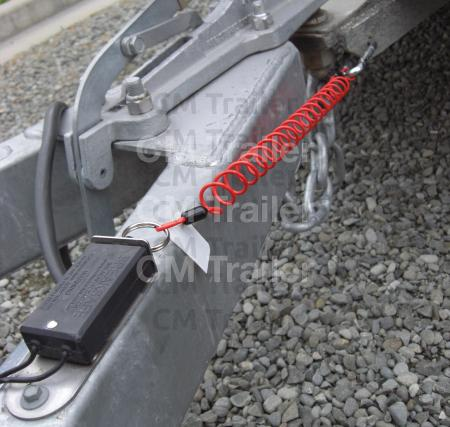 RECOILING BREAKAWAY CABLE CM Trailer Parts New Zealand Trailer