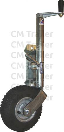 PNEUMATIC TYRE JOCKEY WHEEL