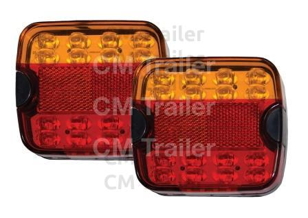 MULTI-VOLT SUBMERSIBLE LED TAIL LAMPS