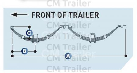 Springs Tandem Axle | CM Trailer Parts | New Zealand Trailer ... on