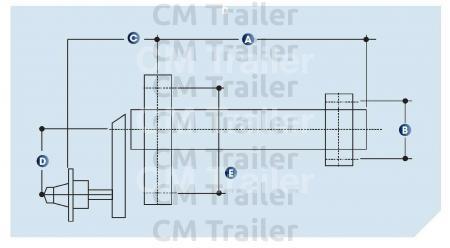 Excellent Torsion Arm Suspension Half Axle Sets Cm Trailer Parts New Wiring Database Wedabyuccorg