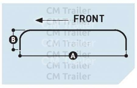 TANDEM AXLE ROLL FORMED ROUND GUARDS