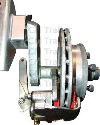 HYDRAULIC WITH INTEGRAL PARK BRAKE CALIPER