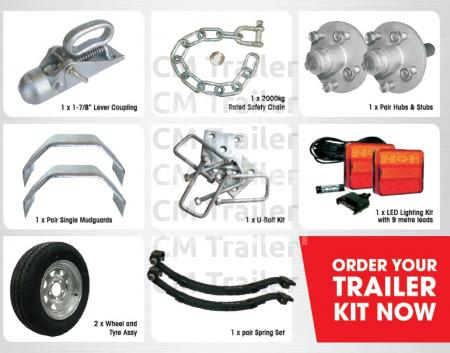 Single Axle Trailer Kits