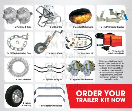 Tandem Axle Trailer Kit