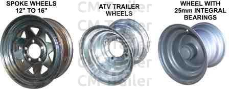 GALVANISED STEEL WHEELS