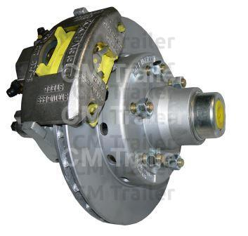 2750kg Hydraulic vented disc brake