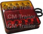 LED COMBINATION STOP / TAIL / INDICATOR LAMP M/V SQUARE